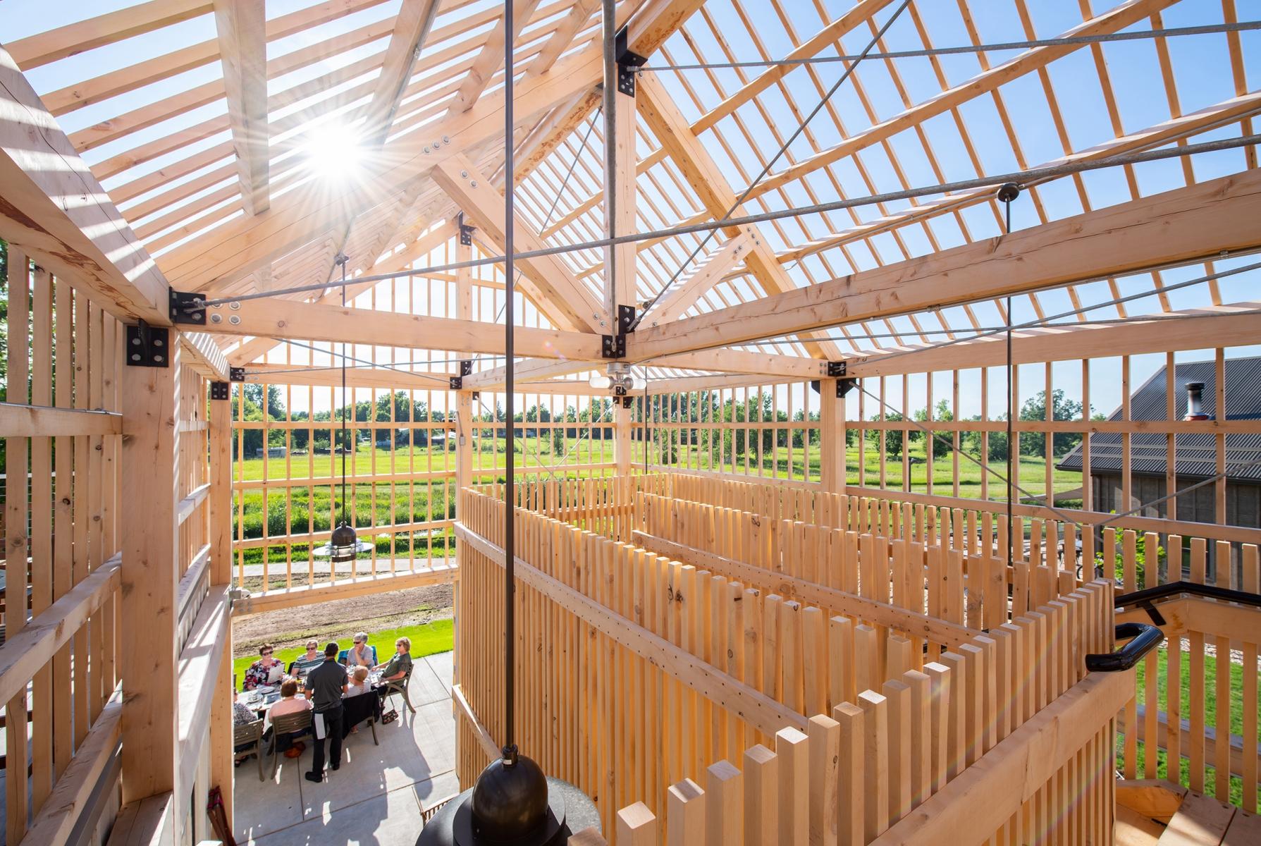 FARMHOUSE BISTRO (JLG Architects/Architecture)