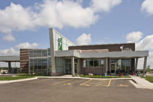 First Bank & Trust / Coffea @ Dawley Farms, Sioux Falls, S.D., Van De Walle Associates, photos by Cipher Imaging (Architecture)