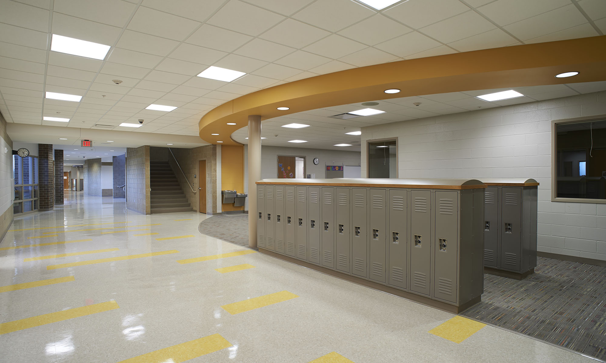 Mickelson Elementary School (Photo from Koch Hazard Architects)
